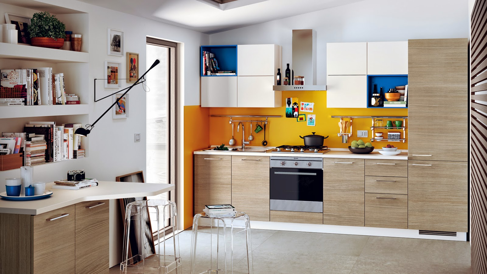 Modular Kitchens in Bangalore: Italian modular kitchens from Scavolini