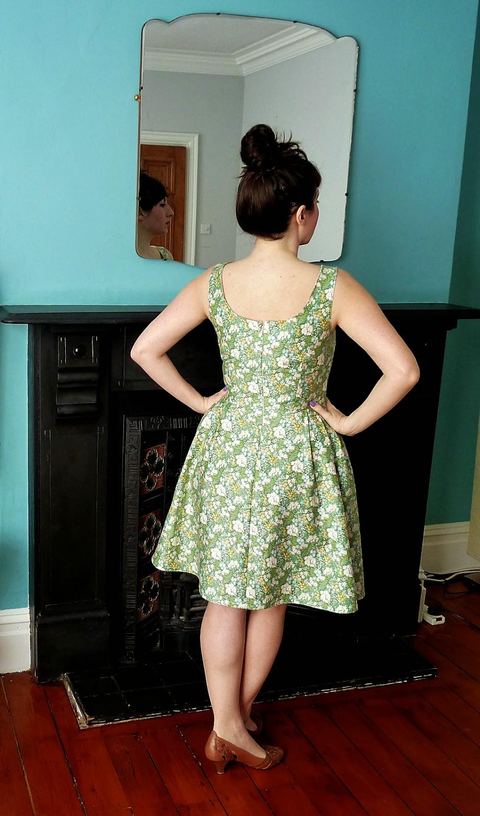 Chintzy Floral Lilou Dress - A Stitching Odyssey