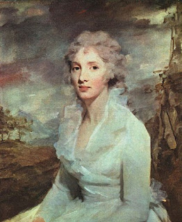Sir Henry Raeburn painting - Miss Eleanor Urquhart