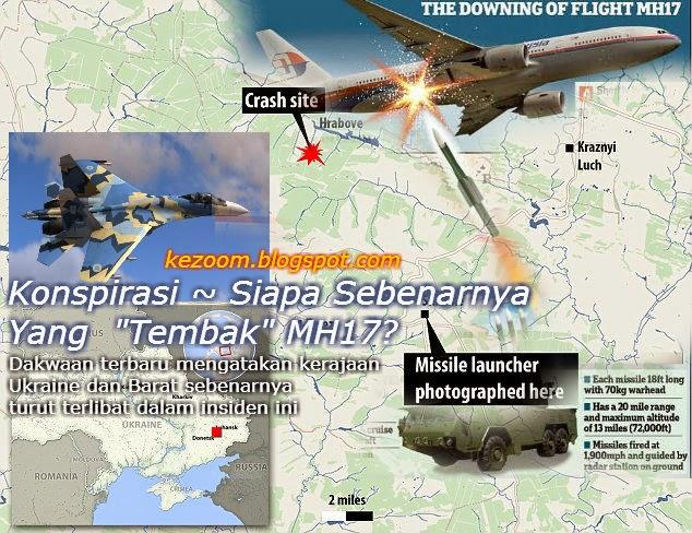 Konspirasi Siapa Sebenarnya Yang Tembak MH17