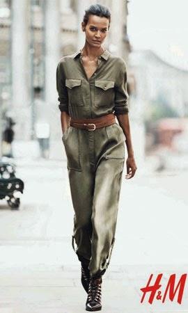 H&M otoño invierno 2014 2015 catálogo moda mujer mono