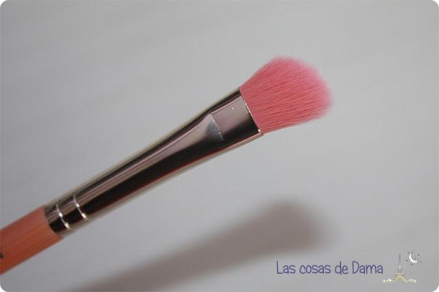brochas Bdellium Tools bambú pink