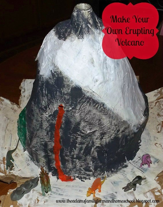 How to Make Your Own Erupting Volcano