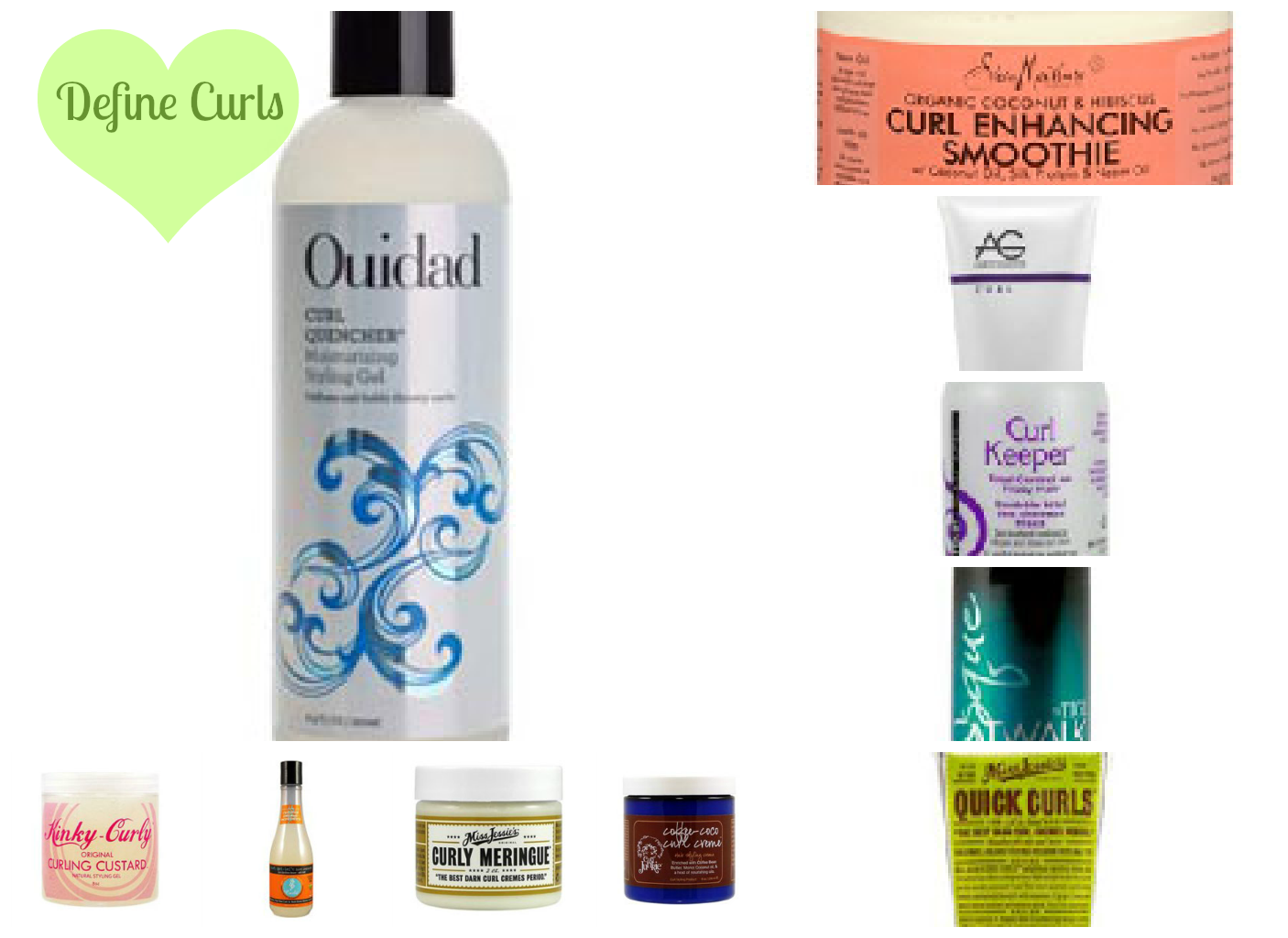 Pop your curls with the TOP 10 curl-defining products!