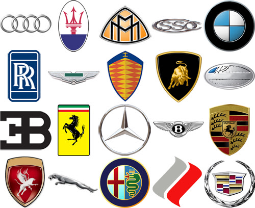 Car Logos And Brands Cars Show Logos