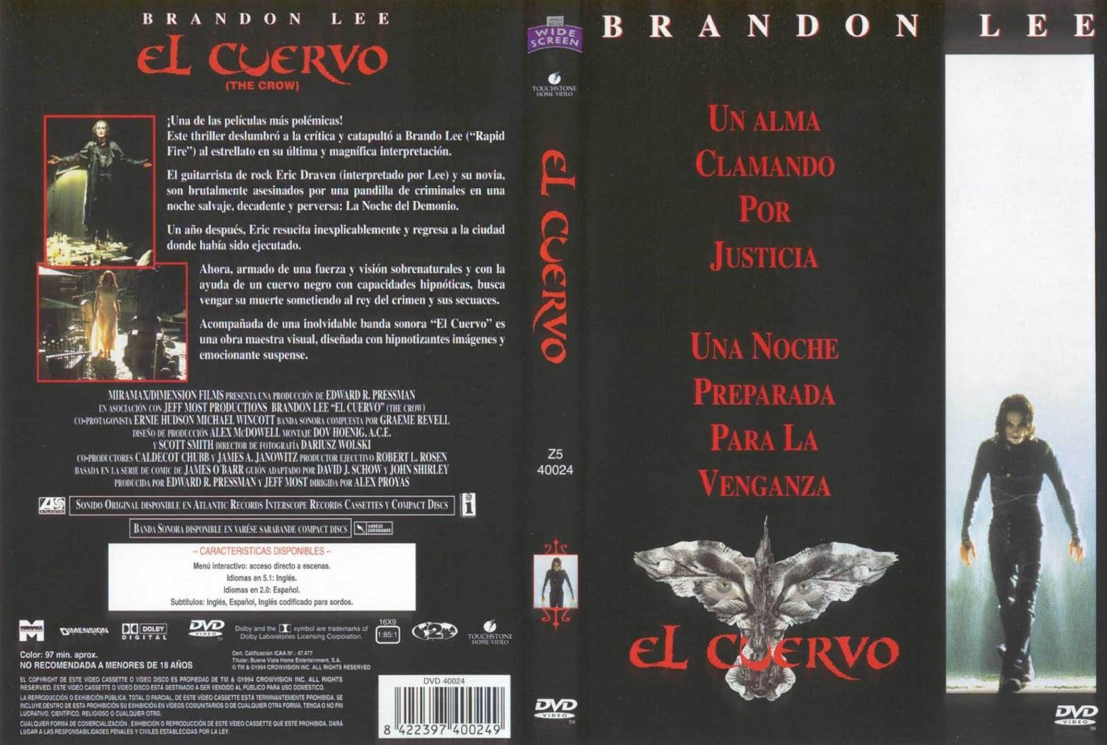 El cuervo ( 1994 ) DescargaCineClasico.Net