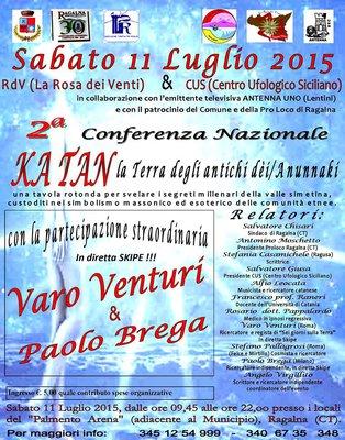 "Conferenza Catania 2015 ""Ka Tan - La Terra degli Antichi Dei Anunnaki"""