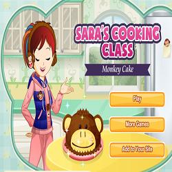 Monkey Cake @ Sara's Cooking Class