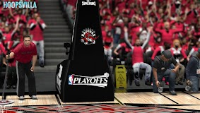 NBA 2k14 Stadium Mod : Playoff Edition - Toronto Raptors - Air Canada Centre
