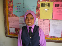 Pelajar UPSR Siti Noor Asyikin