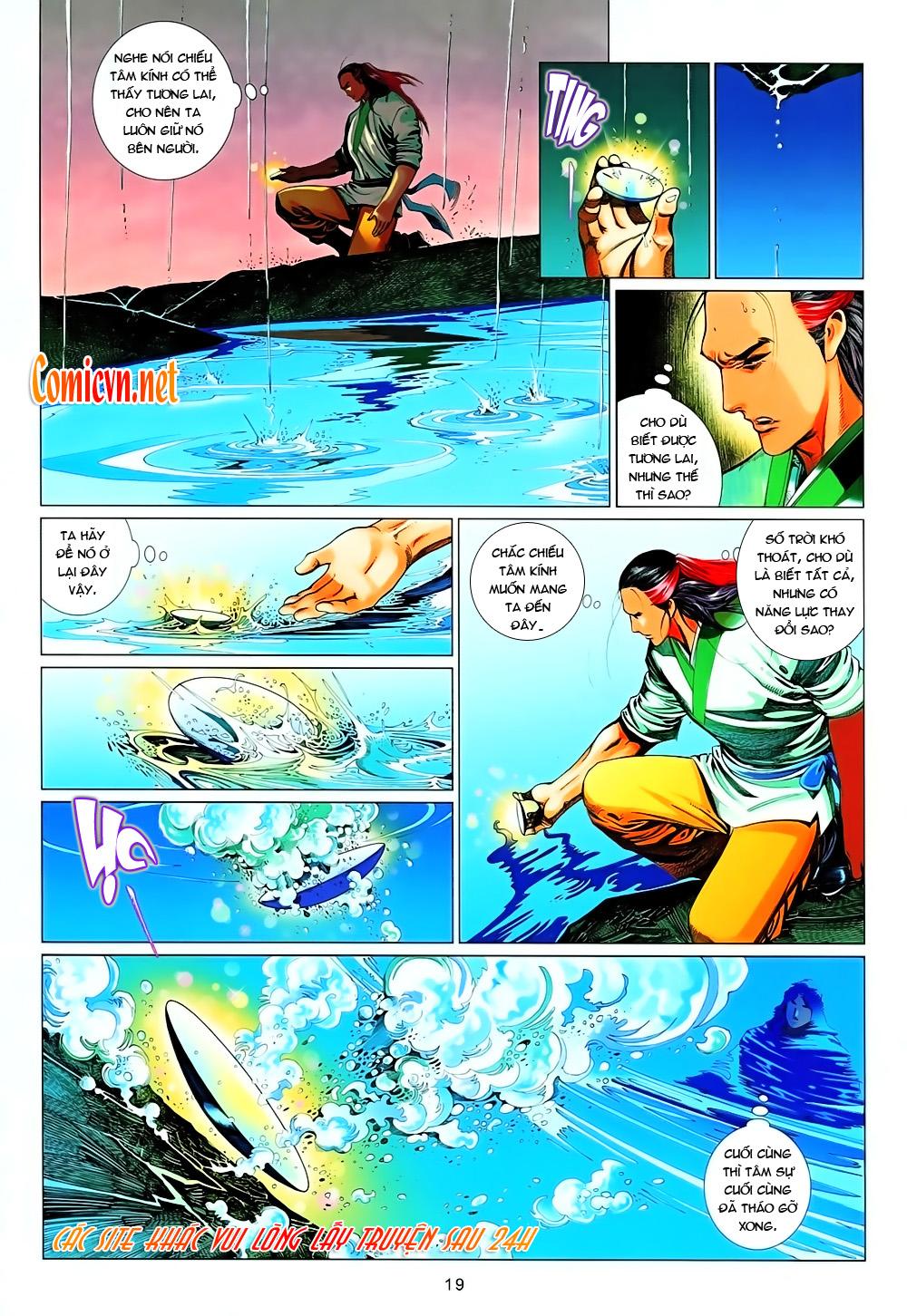 Phong Vân chap 638 Trang 16 - Mangak.info
