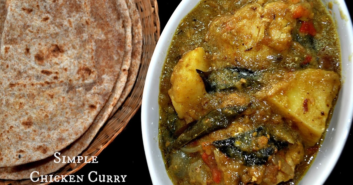 Tickle My Senses: Simple Chicken Curry with Potatoes ...