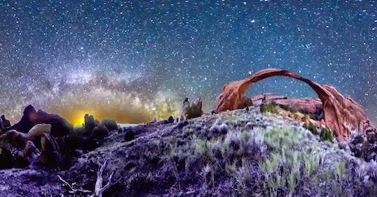感動! 夜空を独り占めしたような絶景360°タイムラプス映像!『Planetary Panoramas - 360 Degree Night-Sky Time-Lapse 』
