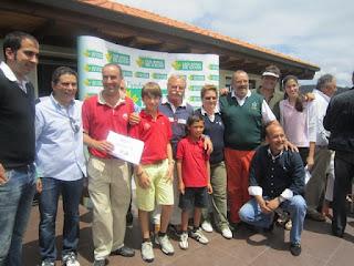 ganadores Torneo 17 de Junio en Deva Golf