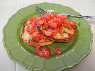 Bruschetta+Pancakes+Potatoless+Pancakes Weight Loss Recipes Happy National Pancake Day!