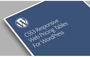 CSS3 Pricing Table Plugins for WordPress