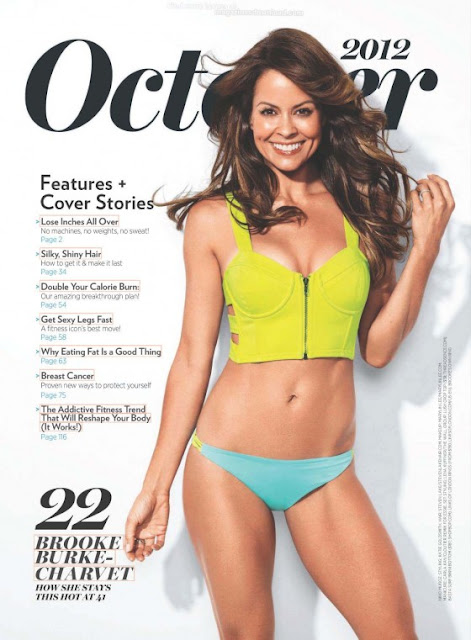 Brooke Burke Shape USA Magazine