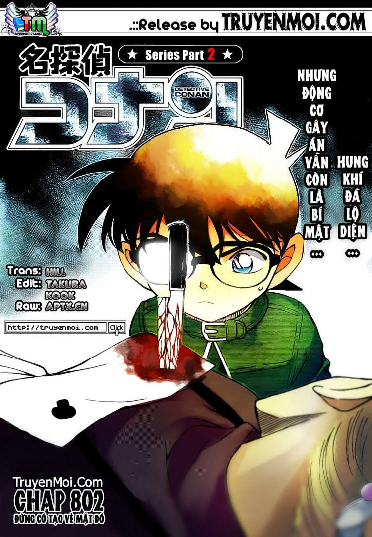 Detective Conan - Thám Tử Lừng Danh Conan chap 802 page 17 - IZTruyenTranh.com