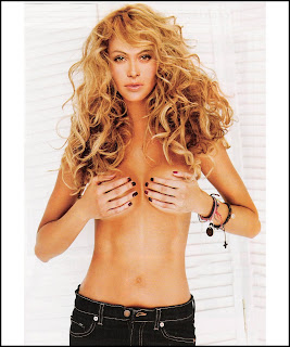 Paulina Rubio hot topless blonde hand bra tight jeans mamacitas chicas famosas Mexicanas videos calientes HQ HD fotos