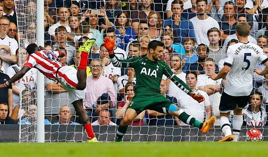 Tottenham 2 x 2 Stoke City - Premier League 2015/16