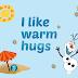 Poster de Olaf en Verano, Frozen para Imprimir Gratis.
