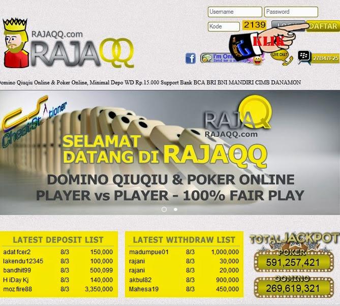 Situs judi poker online bank bca