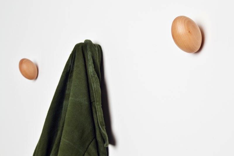 Colgadores Coat Eggs Daniel Schofield