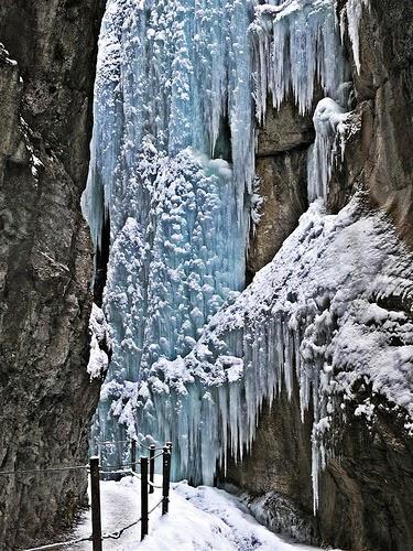 Partnach Gorge in Bavaria