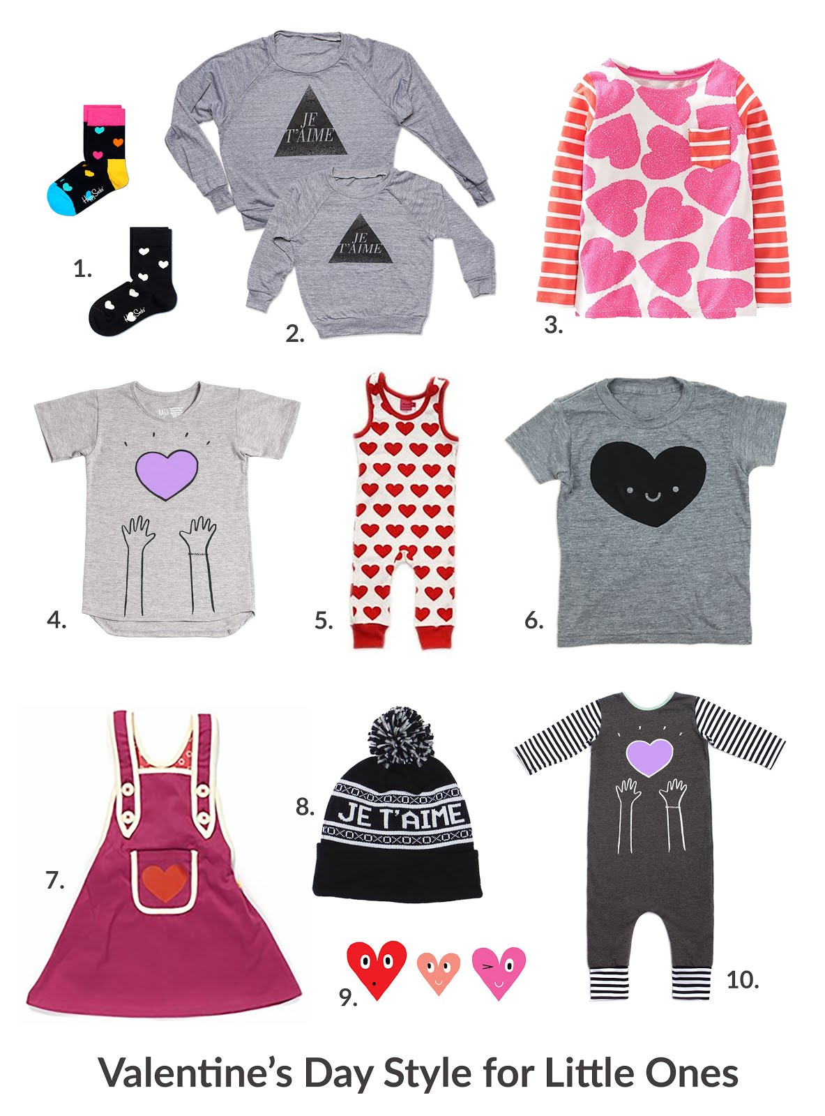 Valentine's Day Style for Little Ones