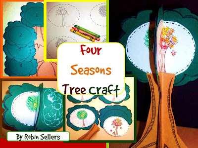 seasons tree craftivity