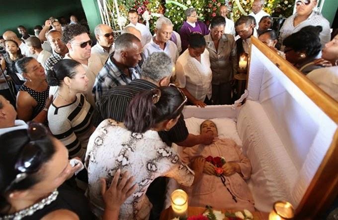 Puerto Plata da el último adiós a madre de Bartolo