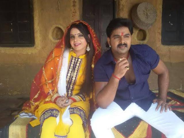 Pawan Singh, Kavya Lagi Nahi Chhute Rama Bhojpuri Movie Pics
