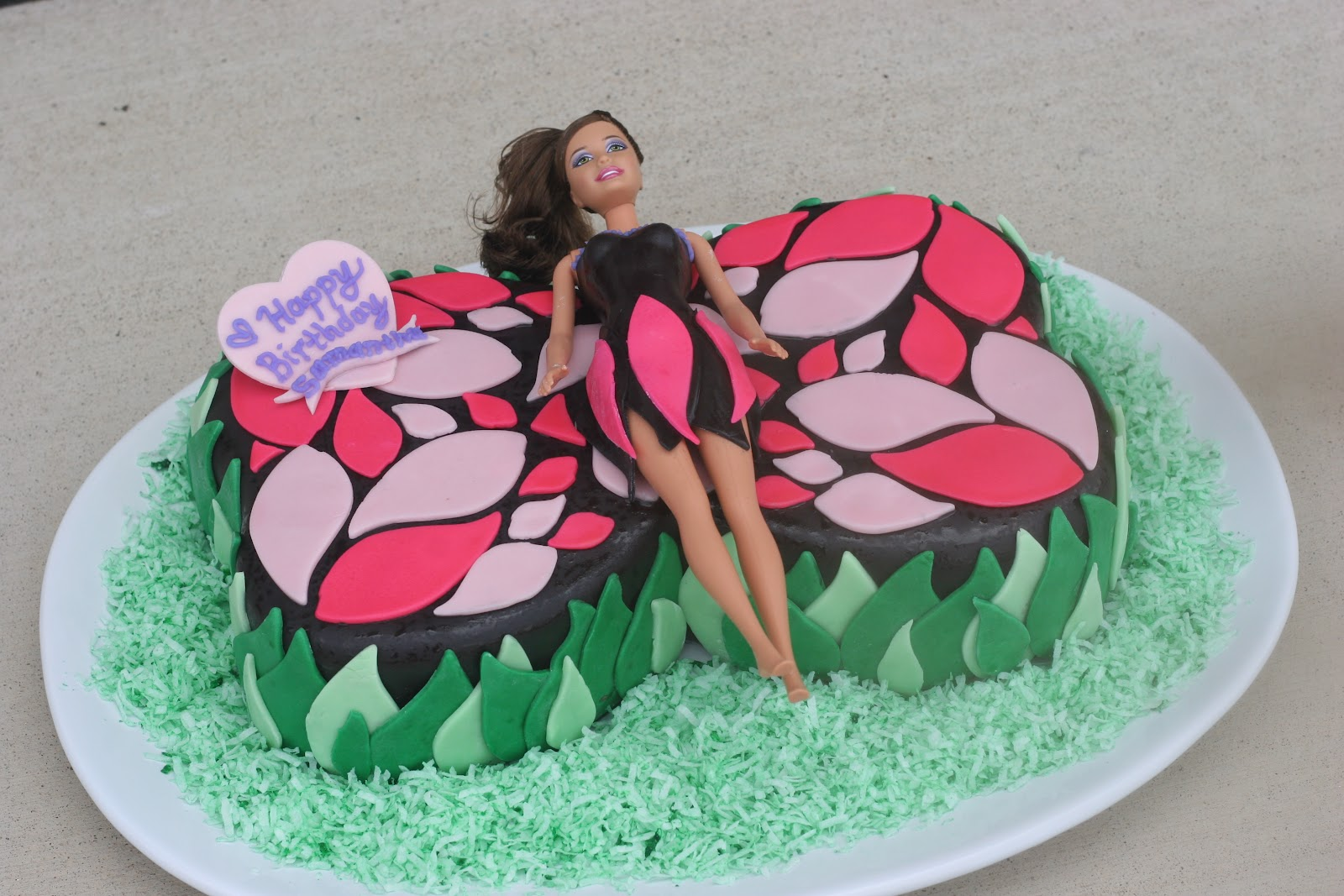 Butterfly Barbie Cake Images : Butterfly Cake Barbie Cake Ideas and Designs