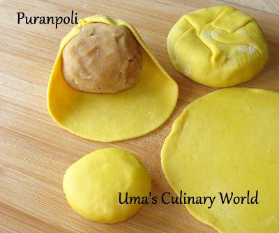 ubbati or Puranpoli