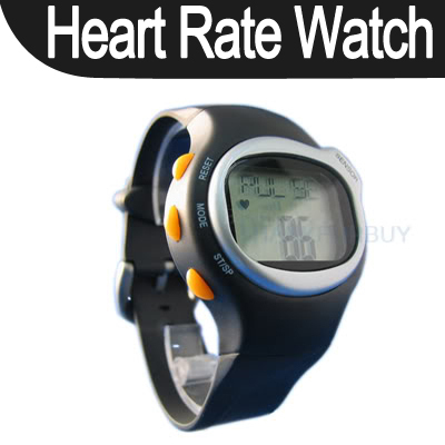 Pulse Heart Rate Monitor Calorie Counter Sport Exercise Wrist Watch Touch Sensor