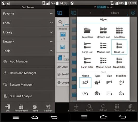 merupakan aplikasi gratis untuk perangkat android yang mempunyanyi banyak fungsi dalam sa Download aplikasi android ES File Explorer