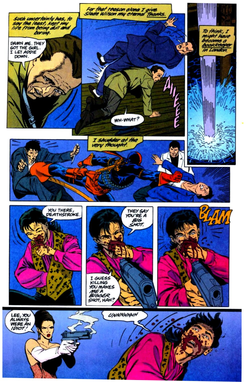 Deathstroke (1991) Issue #29 #34 - English 16