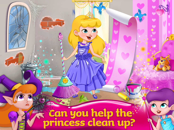 Enchanted Castle Design Free App Game By Kids Fun Club by TabTale