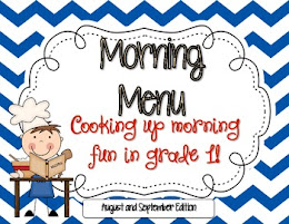 Morning Menu Aug./Sept.