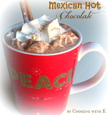 Mexican Hot Cocoa is a rich drink so much so that it could be ...