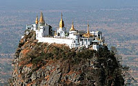 Visit Mount Popa near Bagan