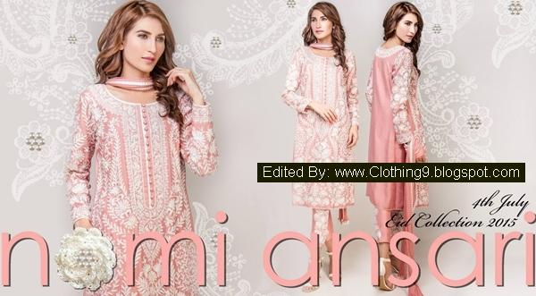 Nomi-Ansari Luxury Pret Dresses Designs 2015