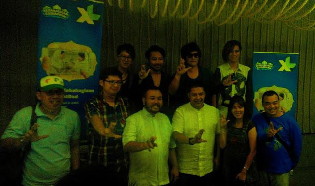 XL Ajak J-Rock Ngabuburit di Medan