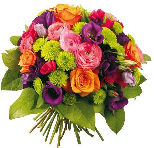 Felicidades Mama. Ramo-flores-seductor