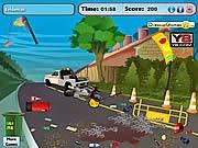 chơi game tai nạn trên đường