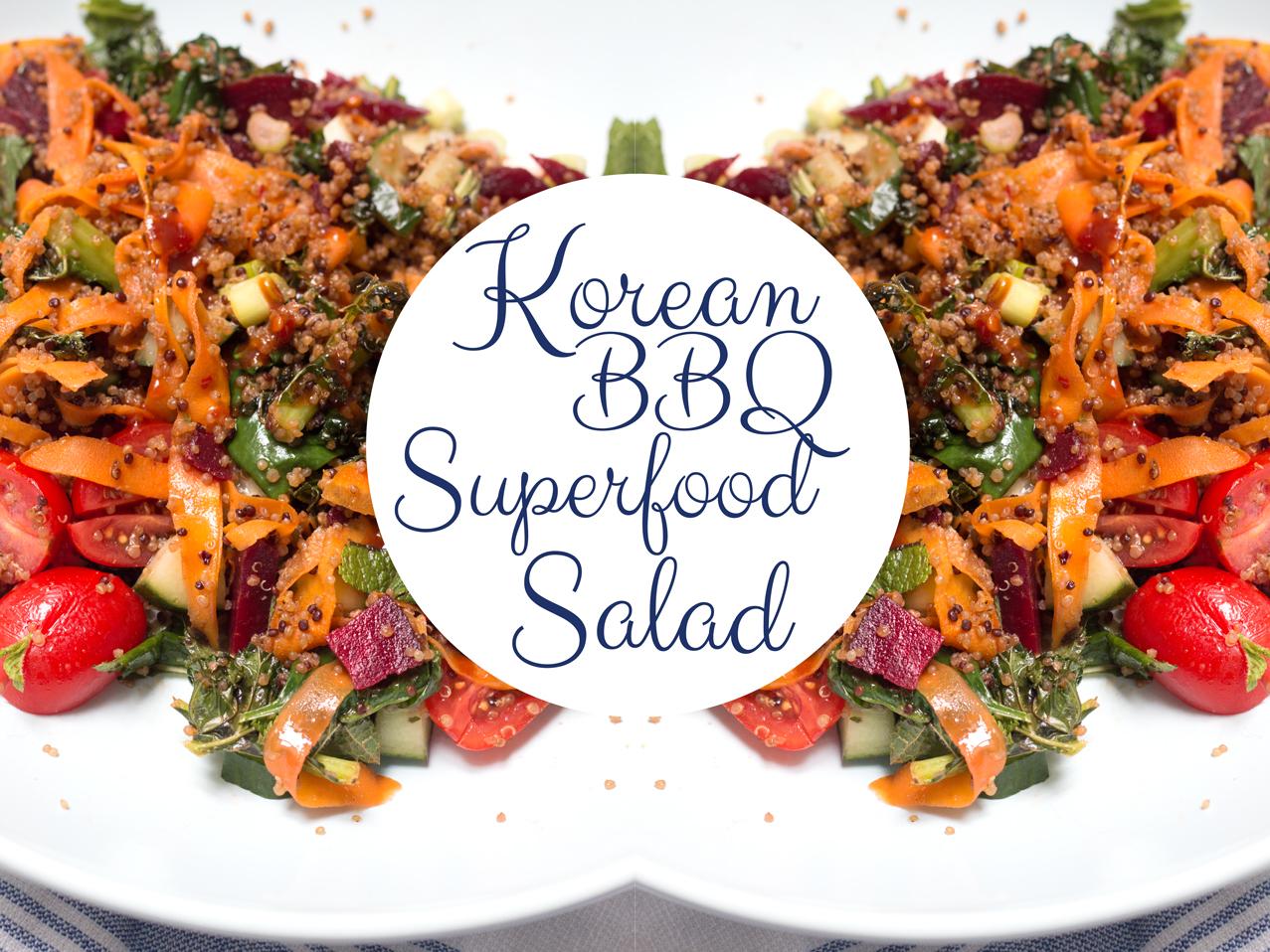 KOREAN BBQ SUPERFOOD SALAD