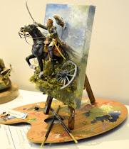 "Euro Militaire 2012 Pt. V  2 types of ""mounted"" figure galleries"