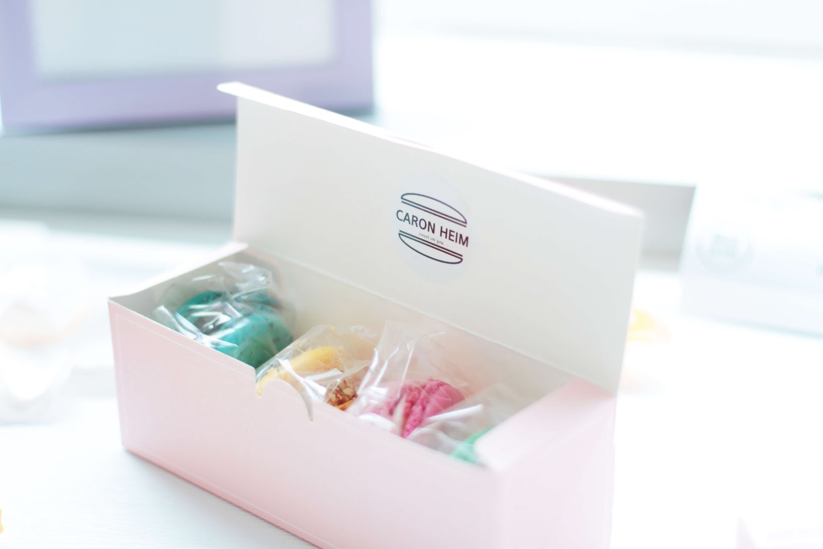 Caron Heim Macarons Little Miss Fii | Fashion Korea Lifestyle little ...