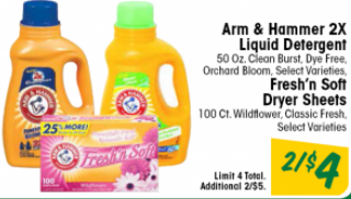 STOCK UP on Arm & Hammer Detergent for $0.50 at Ultra Foods Starting 6/19!