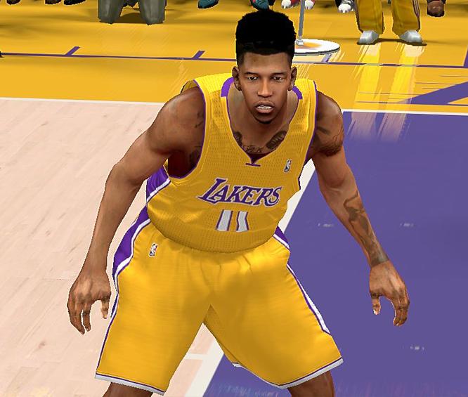 NBA 2K14 Nick Young Cyberface Patch